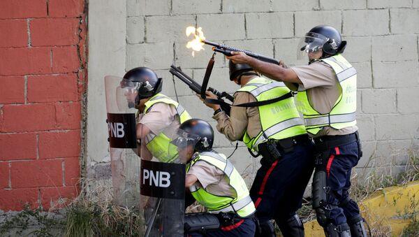 Policía venezolana (archivo) - Sputnik Mundo