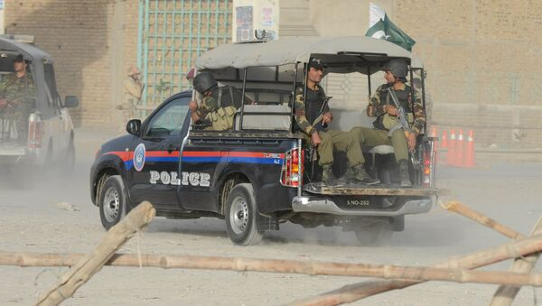 Policía de Pakistán - Sputnik Mundo