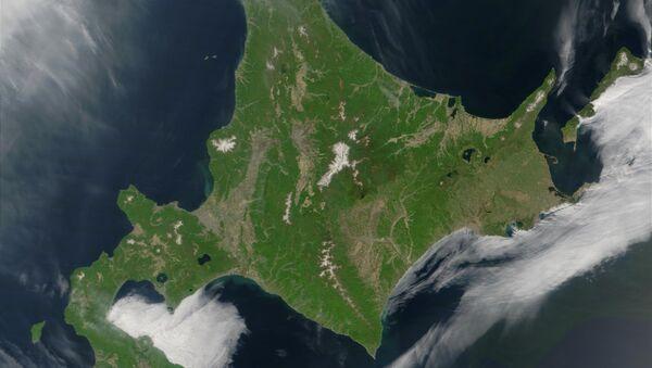 La isla japonesa de Hokkaido - Sputnik Mundo