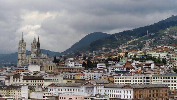 Quito, Ecuador - Sputnik Mundo