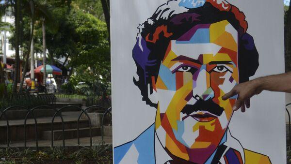 Retrato de Pablo Escobar - Sputnik Mundo