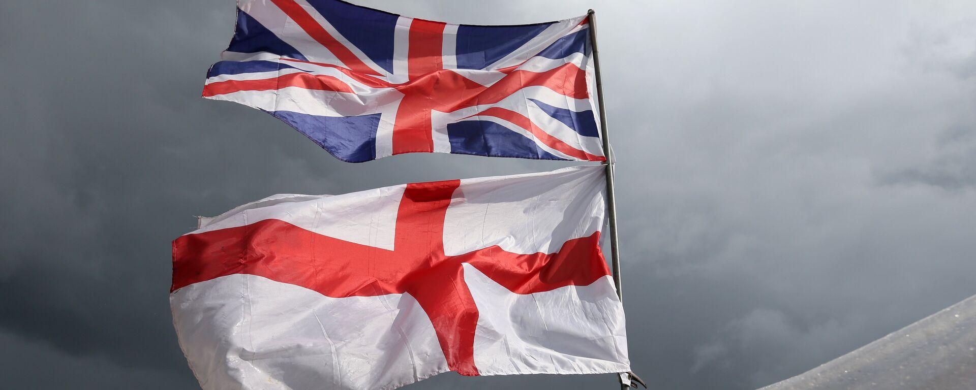 Las banderas del Reino Unido y Irlanda del Norte - Sputnik Mundo, 1920, 09.02.2021