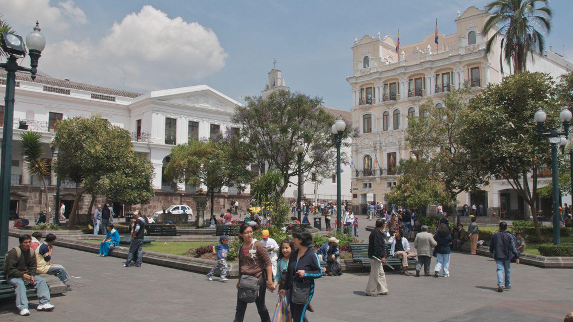 Ciudad de Quito, capital de Ecuador - Sputnik Mundo, 1920, 14.10.2021