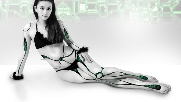 Mujer robótica - Sputnik Mundo