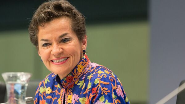 Christiana Figueres - Sputnik Mundo