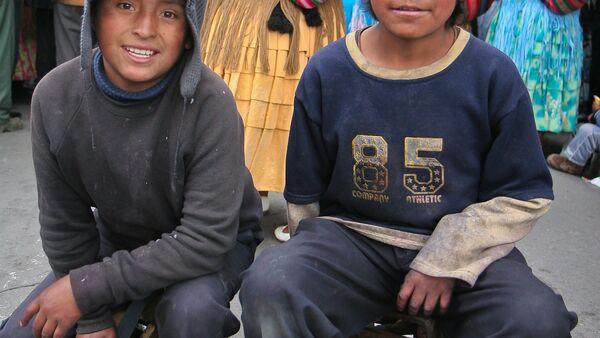 Niños en Bolivia - Sputnik Mundo