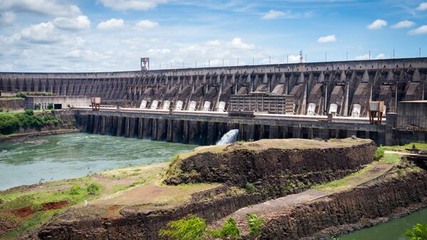 La represa hidroeléctrica de Itaipú - Sputnik Mundo