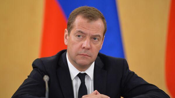 Dmitri Medvédev, primer ministro de Rusia (archivo) - Sputnik Mundo