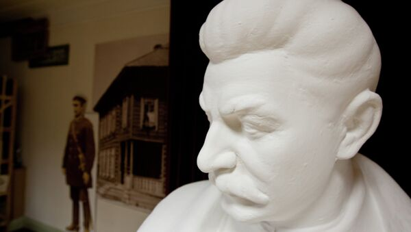 Busto de Stalin (Archivo) - Sputnik Mundo