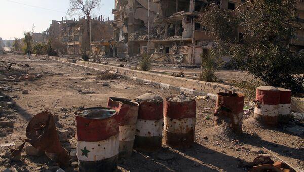 Deir Ezzor, Siria (archivo) - Sputnik Mundo