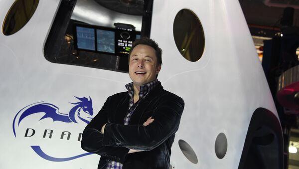 Elon Musk, director general de la empresa espacial SpaceX - Sputnik Mundo