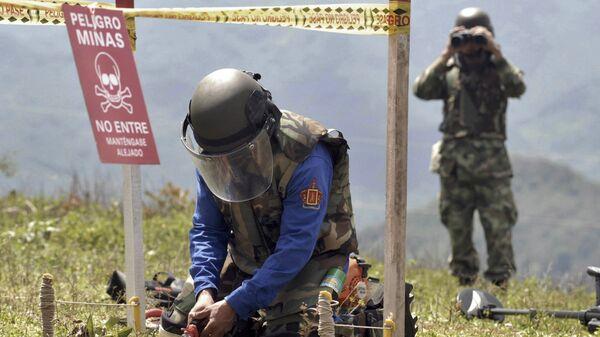 Colombia Land Mines - Sputnik Mundo