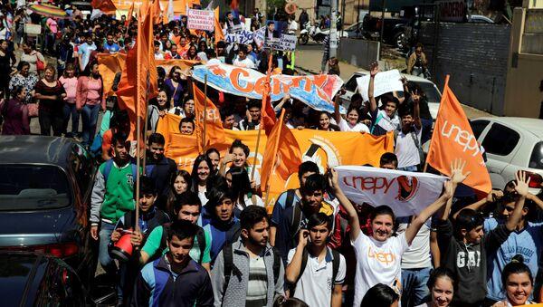 Estudiantes paraguayos (archivo) - Sputnik Mundo