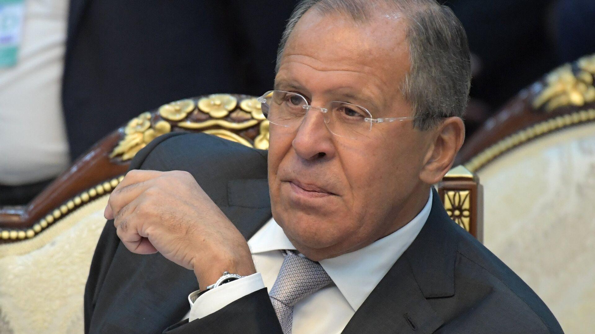 Serguéi Lavrov, ministro de Exteriores de Rusia - Sputnik Mundo, 1920, 22.03.2021