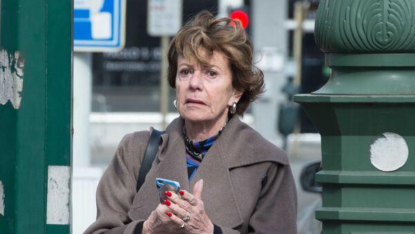 Neelie Kroes, la antigua comisaria de Competencia de la Comisión Europea - Sputnik Mundo