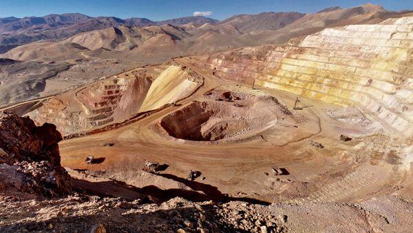 Mina de oro en la província San Juan, Argentina (archivo) - Sputnik Mundo