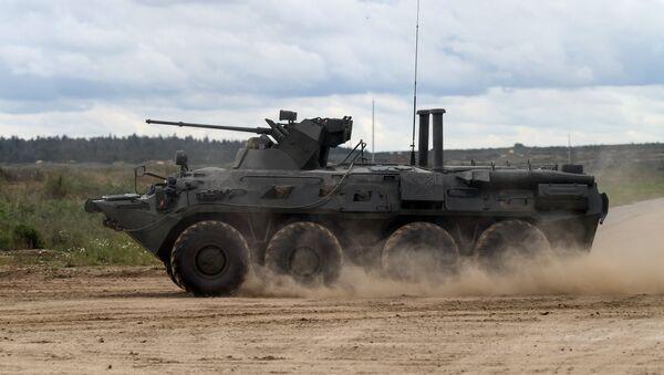 Transporte blindado BTR-82А - Sputnik Mundo