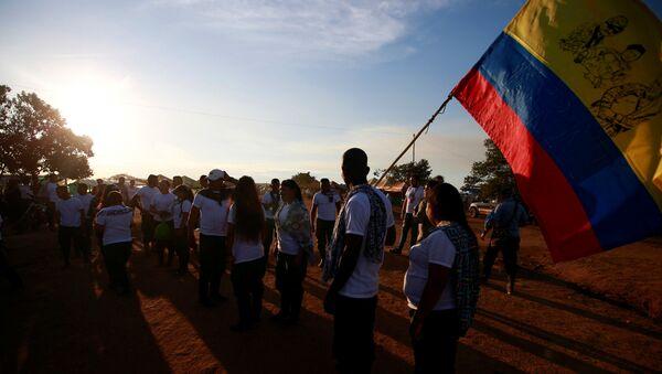 Los combatientes de las FARC (archivo) - Sputnik Mundo