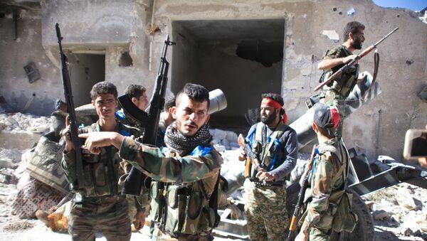 Ejército sirio (Archivo) - Sputnik Mundo
