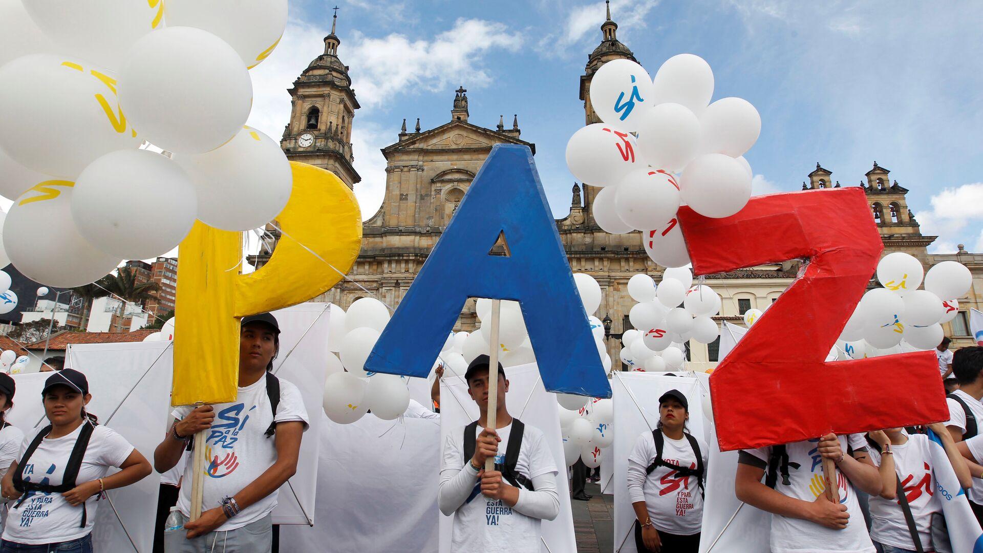 Acuerdo de paz en Colombia - Sputnik Mundo, 1920, 24.09.2021