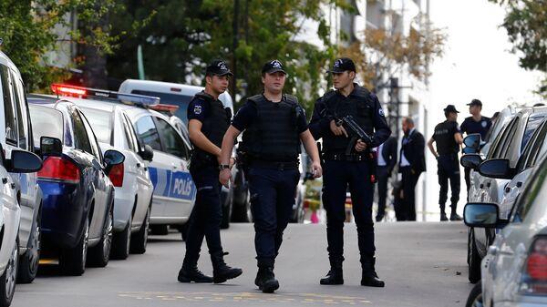Policías de Turquía - Sputnik Mundo