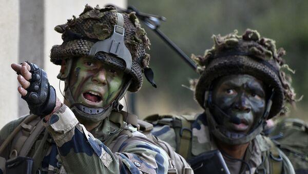 Soldados franceses, foto de archivo - Sputnik Mundo