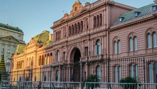 La Casa Rosada, la sede del Gobierno argentino - Sputnik Mundo