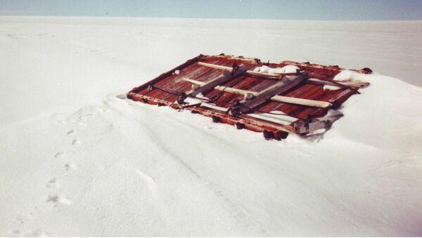 Los restos de la base militar secreta Camp Century - Sputnik Mundo