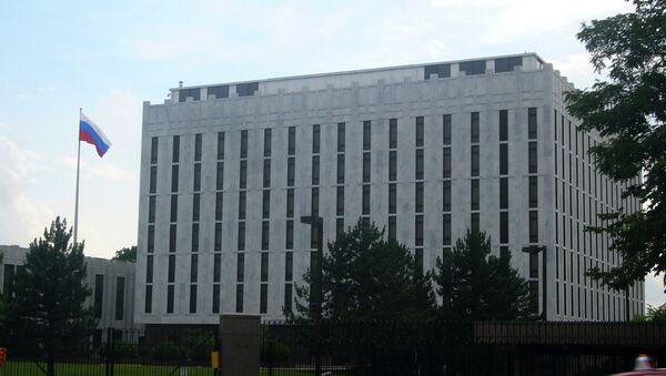 Embajada rusa en Washington, EEUU (archivo) - Sputnik Mundo