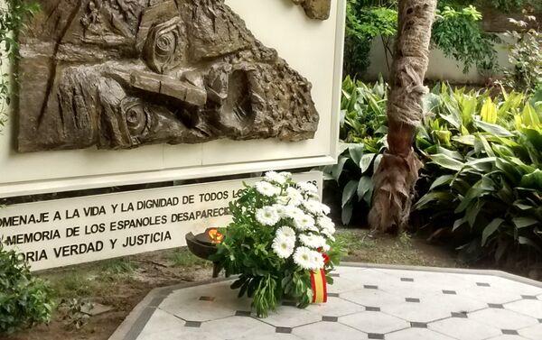 Monumento en memoria de los españoles desaparecidos durante la dictadura - Sputnik Mundo