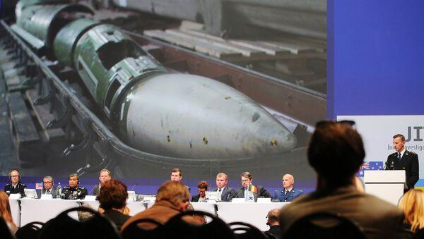 Informe técnico sobre la catástrofe de MH17 en el este de Ucrania en 2014 - Sputnik Mundo