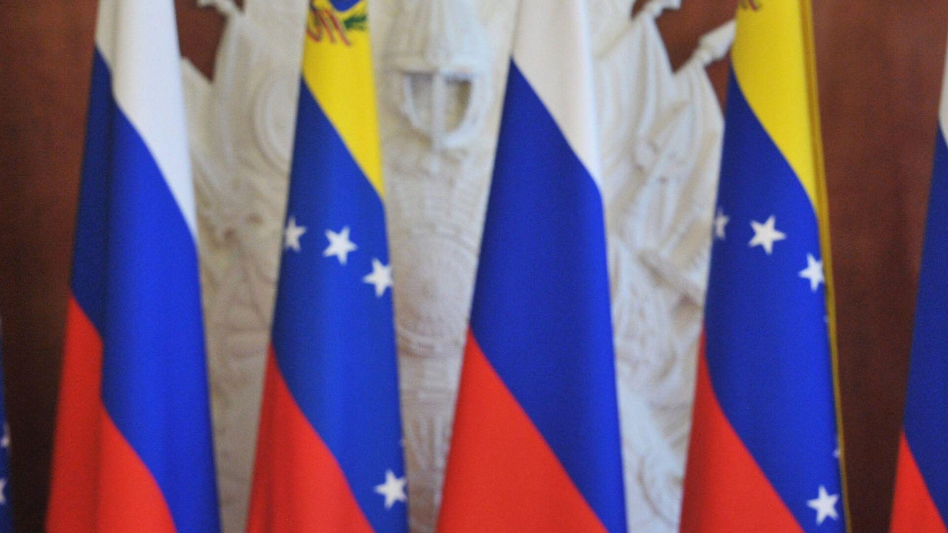 Las banderas de Rusia y Venezuela - Sputnik Mundo, 1920, 21.09.2021