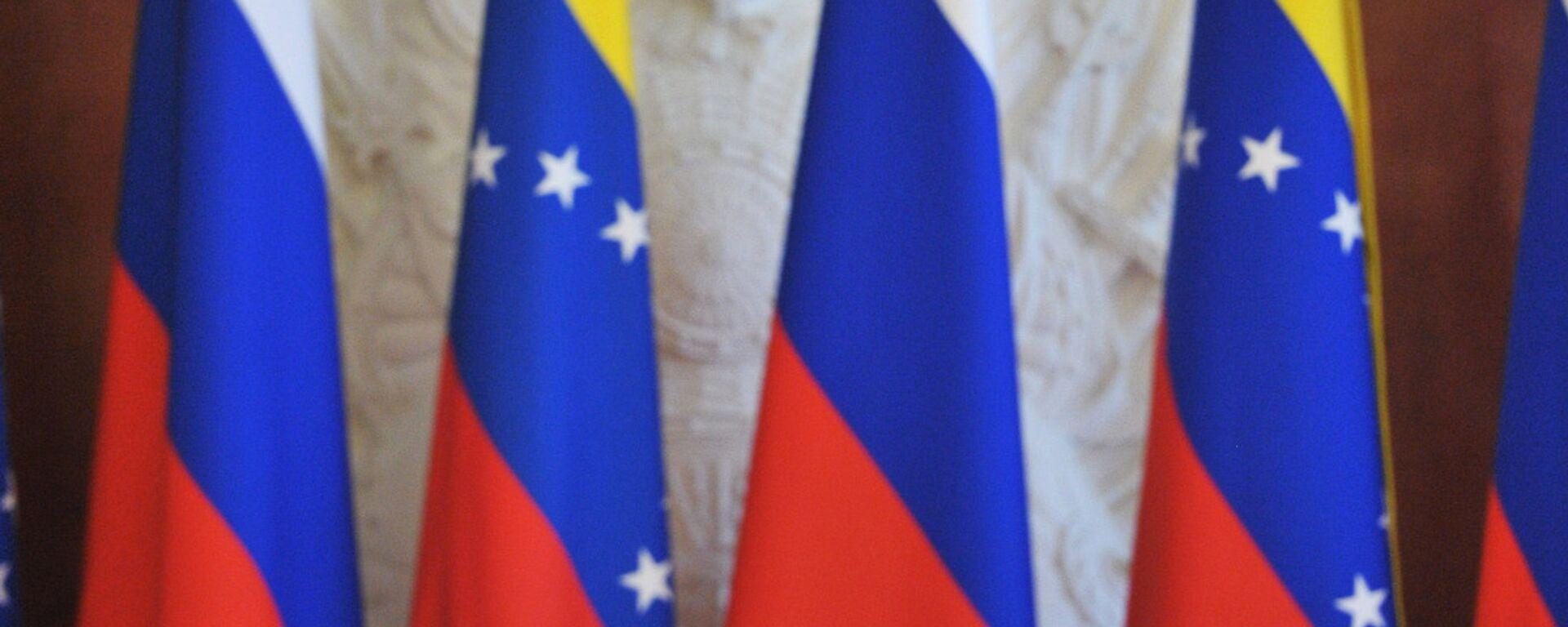 Las banderas de Rusia y Venezuela - Sputnik Mundo, 1920, 12.01.2021