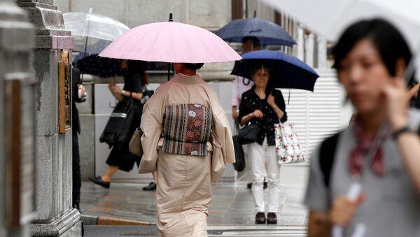 Tifón en Japón - Sputnik Mundo