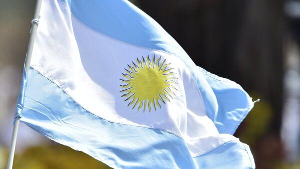 Bandera de Argentina (archivo) - Sputnik Mundo