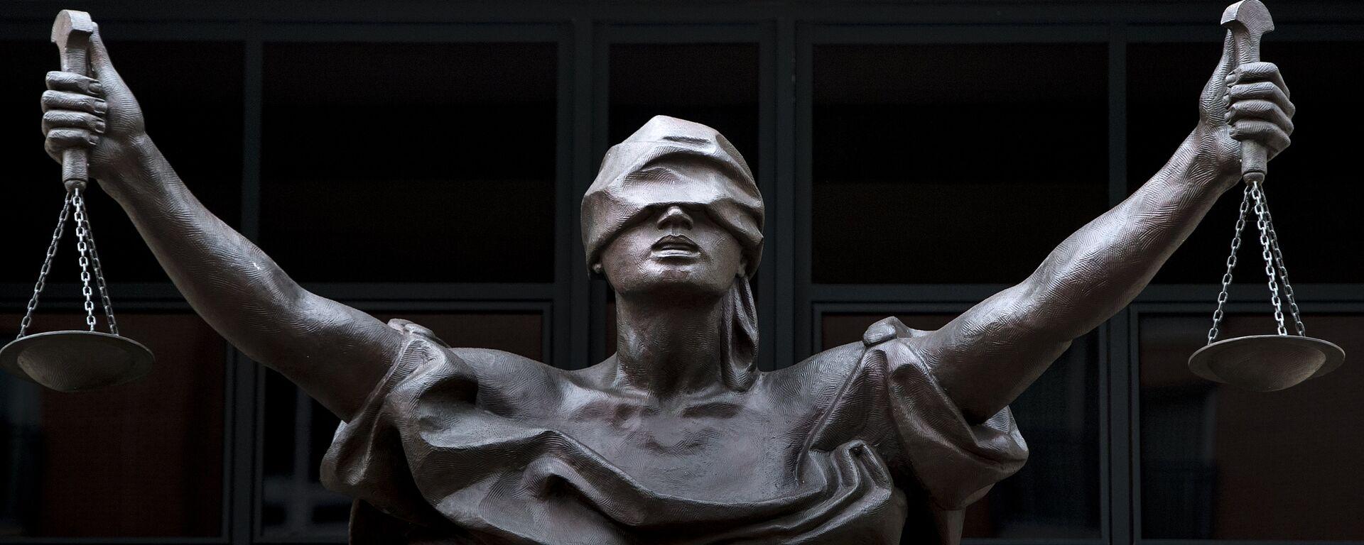 Estatua de la Justicia - Sputnik Mundo, 1920, 25.11.2020