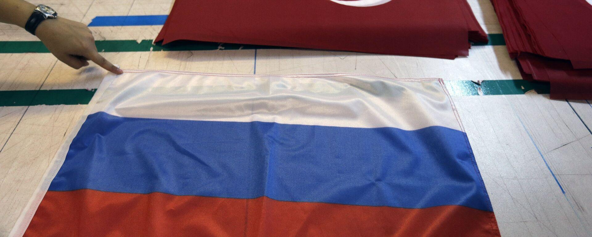 Banderas de Rusia y Turquía - Sputnik Mundo, 1920, 27.07.2021