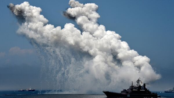 Un buque militar de Rusia - Sputnik Mundo