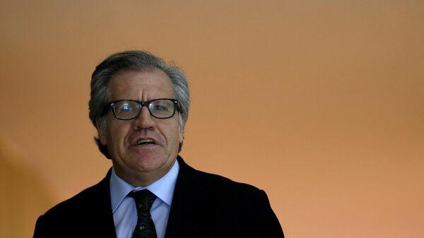 Luis Almagro, secretario general de la OEA (archivo) - Sputnik Mundo