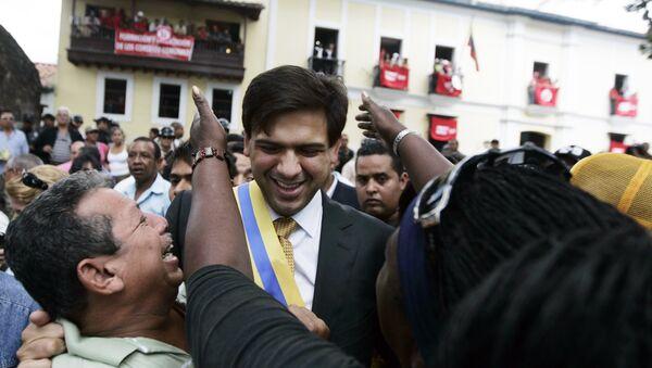 Carlos Ocariz, exalcalde opositor del municipio Sucre, Venezuela (archivo) - Sputnik Mundo