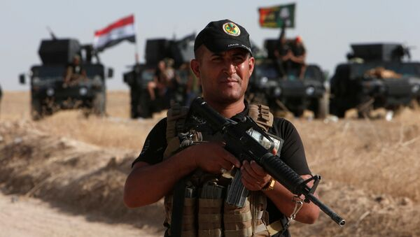 Las preparaciones del ataque en Mosul, Irak - Sputnik Mundo