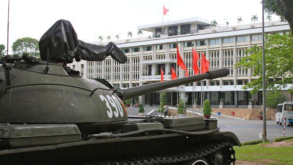 Tanque T-54 expuesto en Hanói, Vietnam - Sputnik Mundo