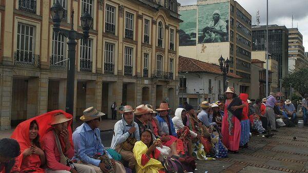 Comunidad indígena en Colombia (archivo) - Sputnik Mundo