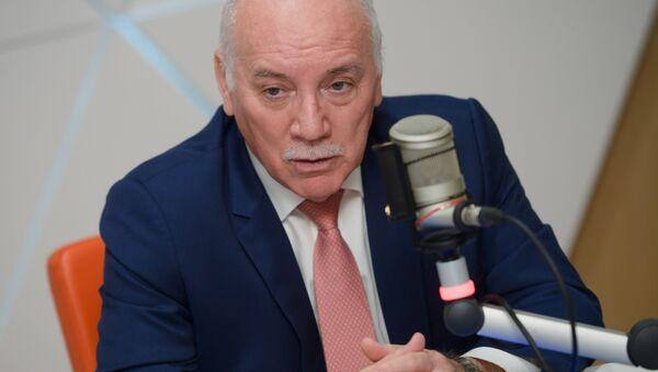 Eladio Loizaga Caballero, ministro de Exteriores de Paraguay, durante una entrevista con Sputnik - Sputnik Mundo