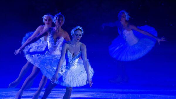 Ballet sobre hielo  (archivo) - Sputnik Mundo