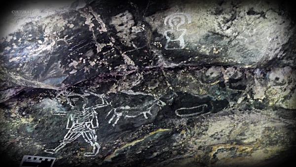Descubren imágenes sorprendentes en cuevas de México - Sputnik Mundo