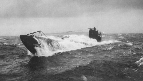 Submarino alemán (Archivo) - Sputnik Mundo
