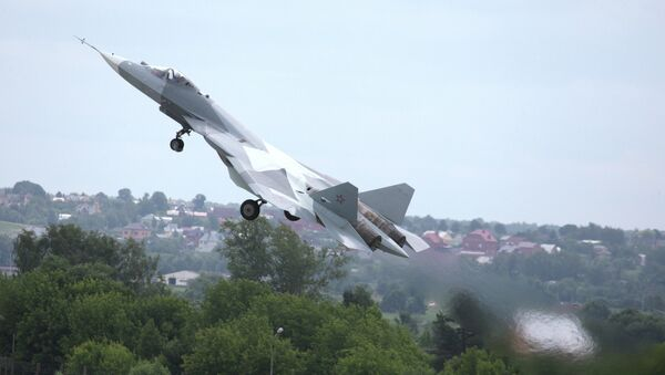El caza T-50, PAK FA - Sputnik Mundo