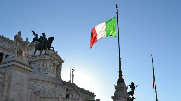 Bandera de Italia - Sputnik Mundo