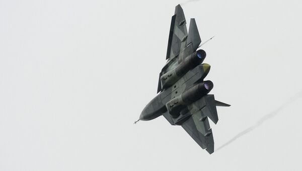El caza ruso de quinta generación T-50, PAK FA - Sputnik Mundo